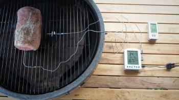 ThermoWorks Smoke X zondes termometrs un Billows ventilatoru apskats